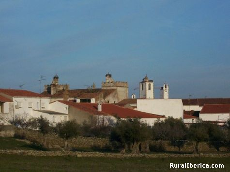 Panor�mica de Herreruela. Herreruela, C�ceres - Herreruela, C�ceres, Extremadura